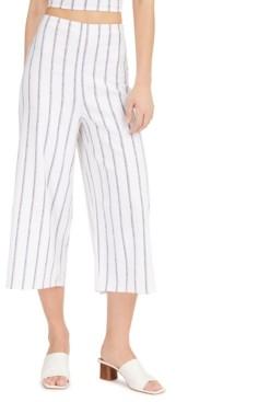 Bar III Striped Smocked-Waist Pants, Created for Macy's