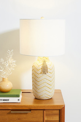 Anthropologie Rianna Table Lamp By in Yellow Size ALL