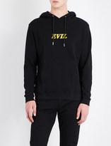 Sandro Evil motif cotton-jersey hoody