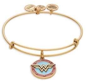 Alex and Ani Wonder Woman Charm Bracelet