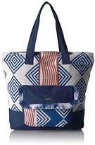 Roxy Heart By The Sea Shoulder Tote Weekender Bag