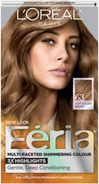 L'Oreal Feria Permanent Haircolor Sparkling Amber (Light Golden Brown)
