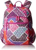 Vera Bradley Women's Campus Tech Backpack, Signature Cotton