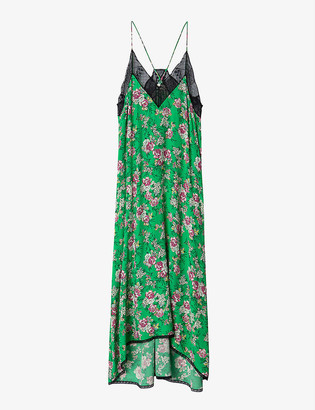 Zadig & Voltaire Ritsy floral-print woven maxi dress