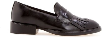 Sarah Chofakian Moma leather loafers