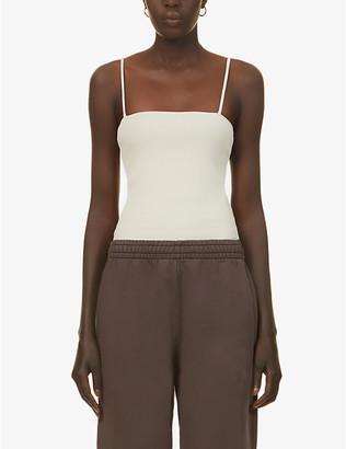 The Odder Side Olsen square-neckline stretch-cotton body