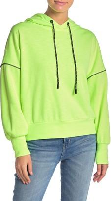 Elodie K Neon Dolman Sleeve Hoodie