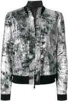 Giorgio Brato reversible metallic bomber jacket