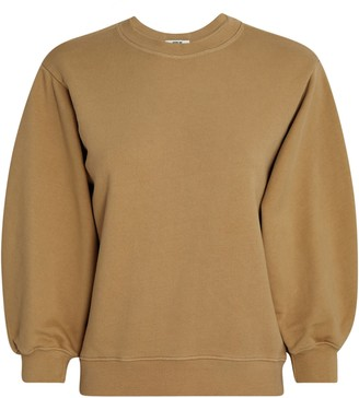 A Gold E Thora Cotton Crewneck Sweatshirt