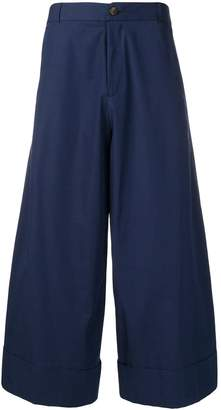 Societe Anonyme cropped palazzo trousers