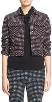 Tomas Maier Women's 'Urban Grid' Brushed Stretch Cotton Jacket