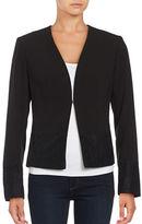 T Tahari Lace-Trimmed Jacket