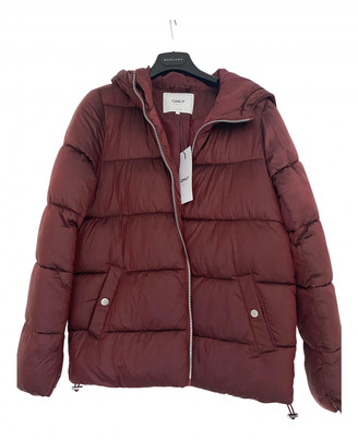 Non Signã© / Unsigned Burgundy Polyester Trench coats