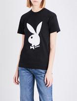 Joyrich Playboy cotton-jersey T-shirt