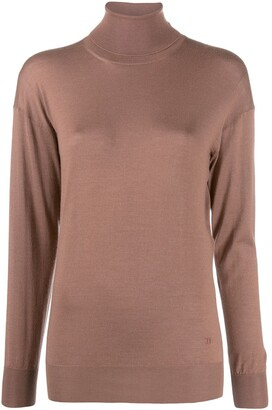 Tom Ford roll neck fine knit jumper