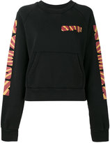Off-White horse print sweatshirt - women - Cotton - L