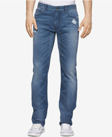Calvin Klein Jeans Men's Slim-Fit Monza Ripped Jeans