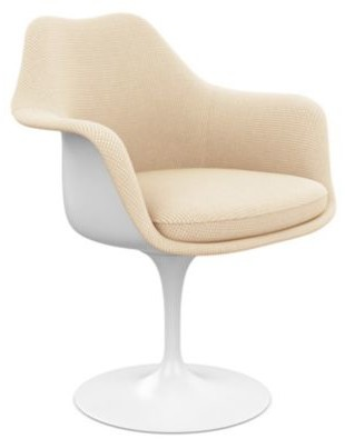 Knoll Tulip Armchair, Fully Upholstered