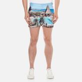 Orlebar Brown Men's Setter Hulton Getty Swim Shorts - Thatching A Plan