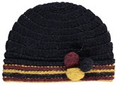 Bonton Pompom Alpaca Wool Hat