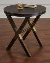 Bernhardt Clarendon Round X-Frame Side Table