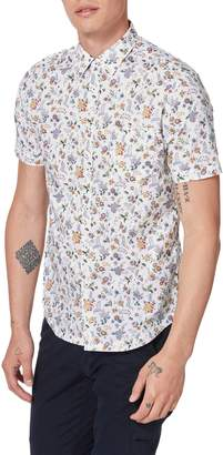 Good Man Brand On Point Slim Fit Short Sleeve Button-Up Shirt