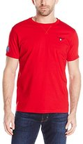 U.S. Polo Assn. Men's Solid V-Inset Crew Neck T-Shirt