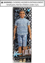 Barbie Ken Fashionistas Man Bun Ken Doll, Little Girls (2-6X) & Big Girls (7-16)
