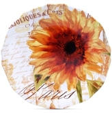 Certified International Paris Sunflower Round Platter