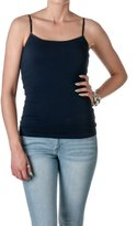 Hollywood Star Fashion Cami Camisole Built in Shelf BRA Adjustable Spaghetti Strap Tank Top