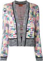 Missoni open front intarsia cardigan - women - Polyester/Viscose - 40