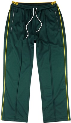 adidas Samstag dark green jersey sweatpants