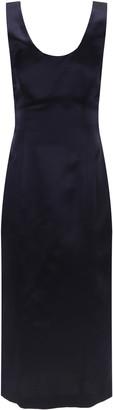 LE 17 SEPTEMBRE Le17 Septembre Wool-Silk Scoop-Neck Midi Dress