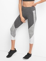 Gap gFast performance cotton colorblock capris