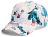 Collection XIIX Women's Tropical Print Baseball Cap - Pink