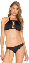 Trina Turk High Neck Bra Top