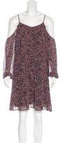 Paige Cold-Shoulder Floral Dress w/ Tags