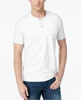 Alfani Big and Tall Henley T-Shirt