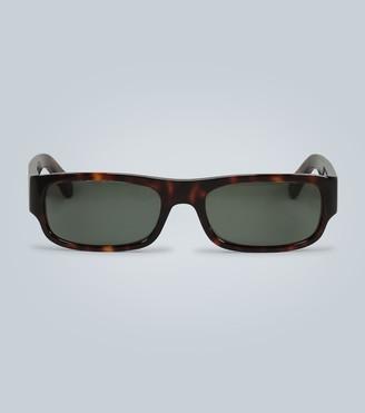 Celine Rectangle frame acetate sunglasses