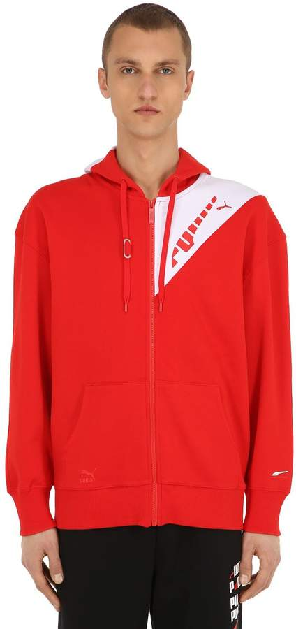 Puma Select Ader Error Zip-Up Sweatshirt Hoodie