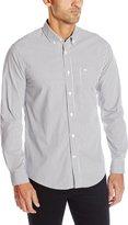 Dockers Long Sleeve Stripe Comfort Stretch Woven Shirt