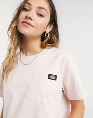 Dickies Ellenwood cropped t-shirt in pink
