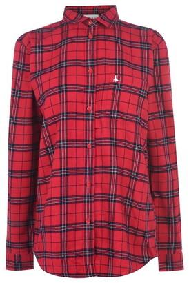 Jack Wills Guilden Checked Boyfriend Shirt