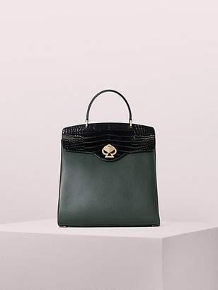 Kate Spade Romy Croc-Embossed Colorblock Medium Backpack