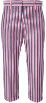 Alberto Biani striped trousers
