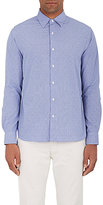 Barneys New York MEN'S DOTTED COTTON POPLIN DRESS SHIRT