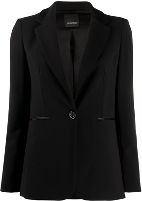 Pinko One-Button Blazer