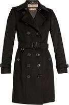 Burberry Sandringham long cashmere trench coat