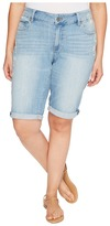 Lucky Brand Plus Size Ginger Bermuda Shorts in Withered Women's Shorts