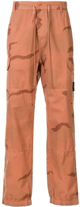 Supreme Camouflage Print Cargo Trousers